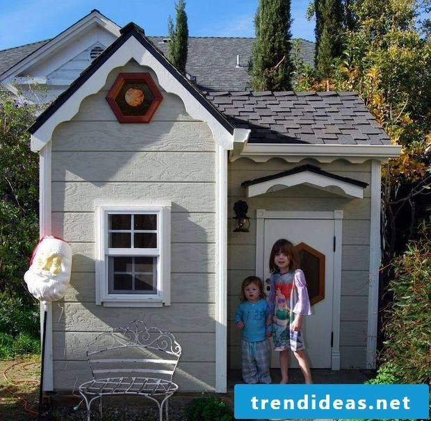 Build a playhouse yourself