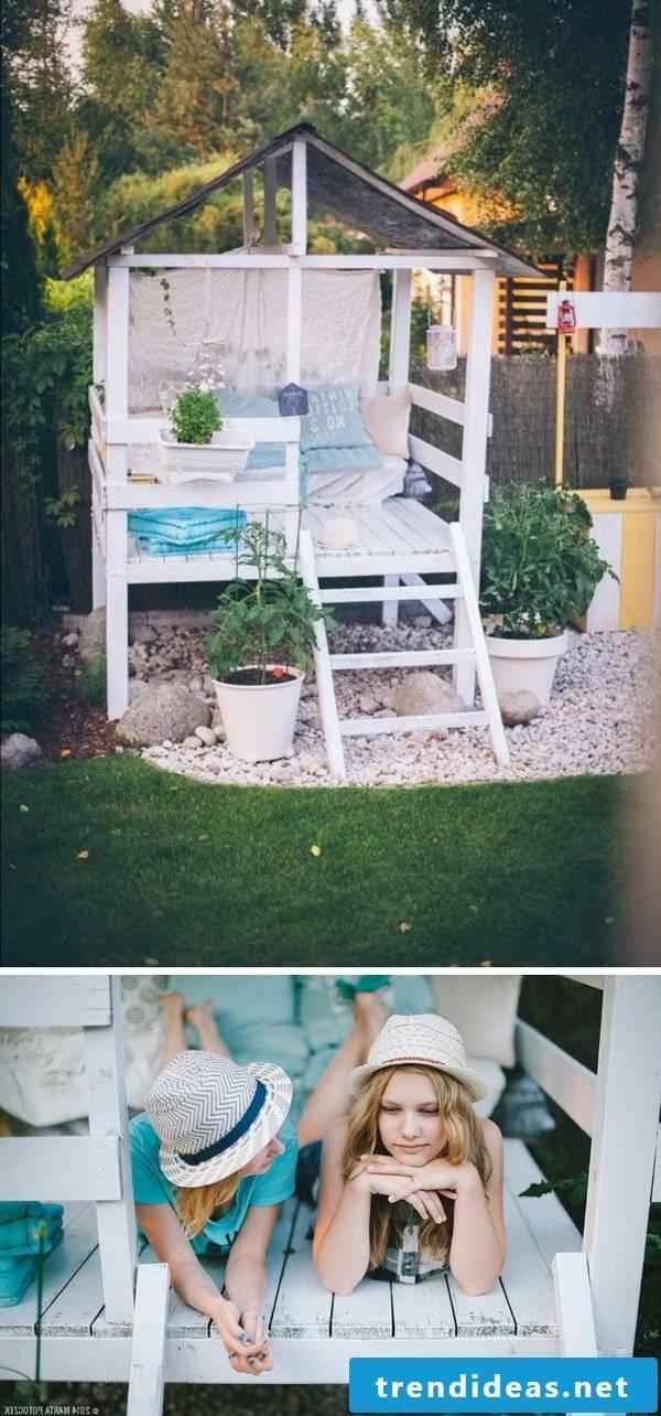 Children's playhouse wood