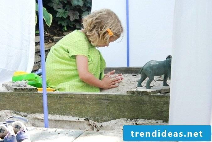 Garden house plastic