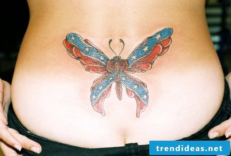 Butterfly Meaning Tattoo on Hip