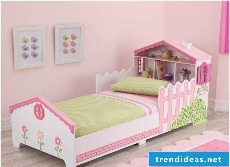 growing baby bed dollhouse girl