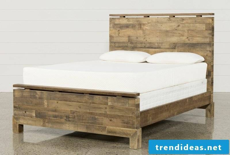 French beds queen size wood classic design