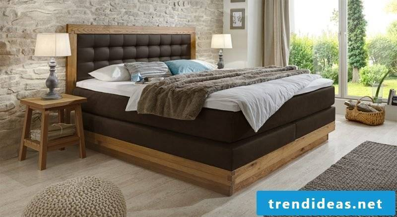 Buy bed boxspring queen size