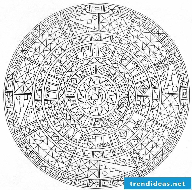 mandala templates increase in strength