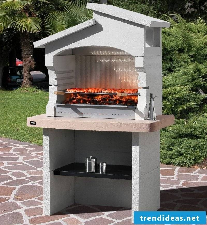 modern barbecue