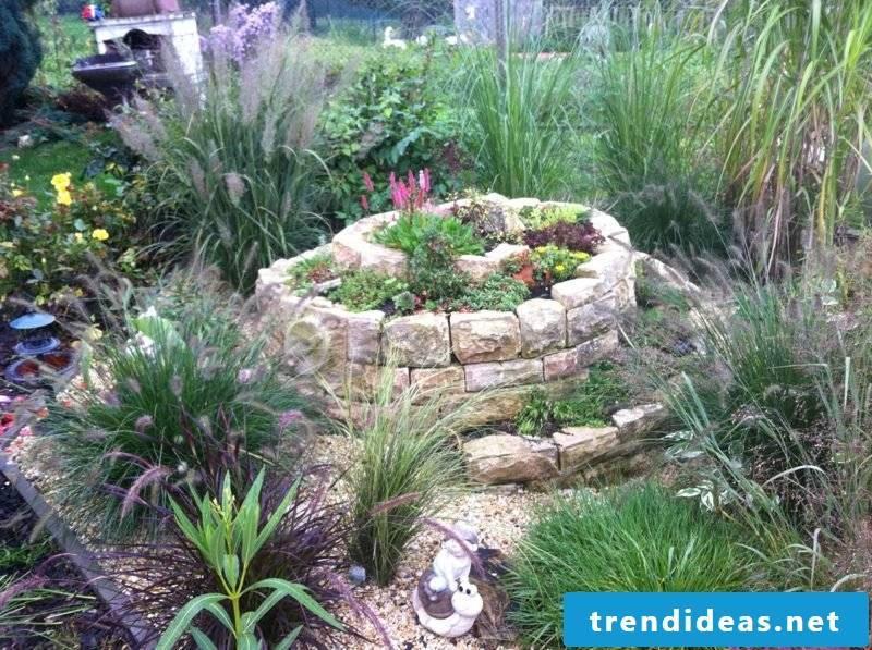 Herb spiral garden design ideas and inspirations