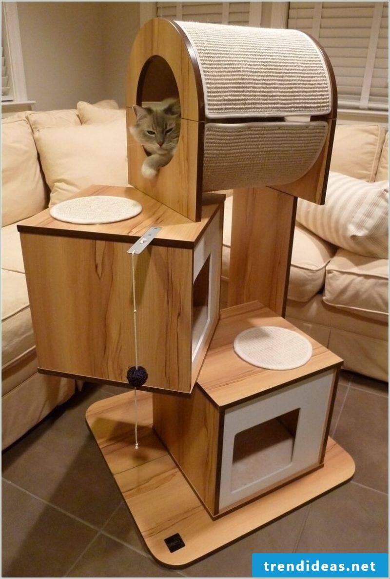 Cat furniture Cat tree DIY