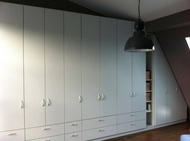 Configure the cabinet to bevel yourself
