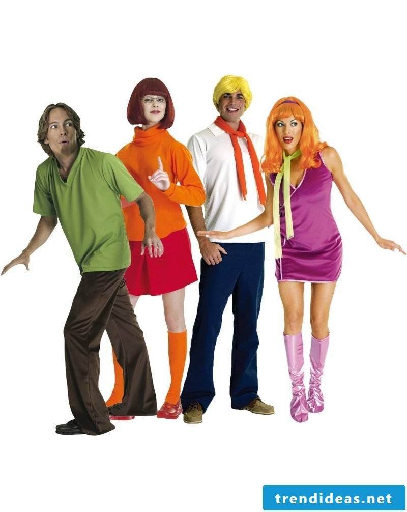 carnival group costumes scooby doo