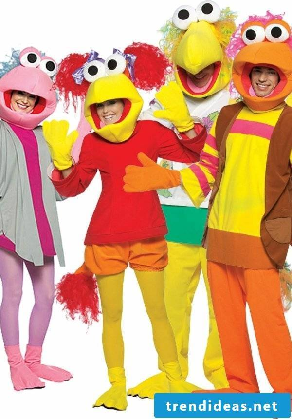 carnival group costumes sesame street