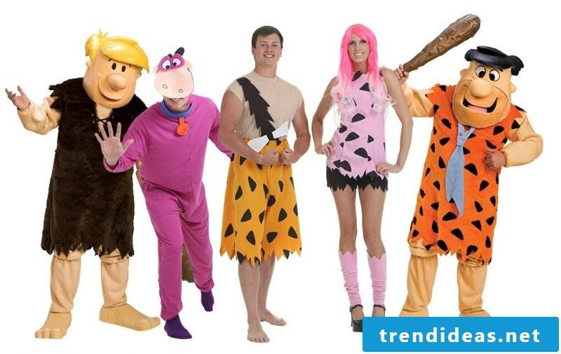 carnival group costumes flinstone