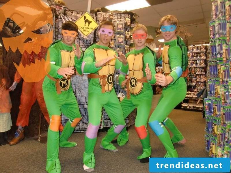 carnival group costumes ninja turtles