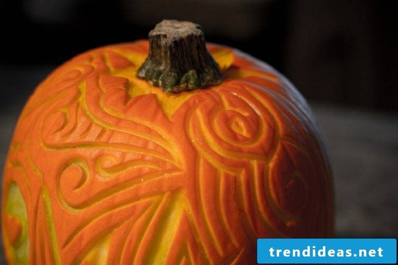 Halloween pumpkin carving ornate ideas