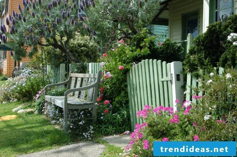 Build idea for garden gate yourself