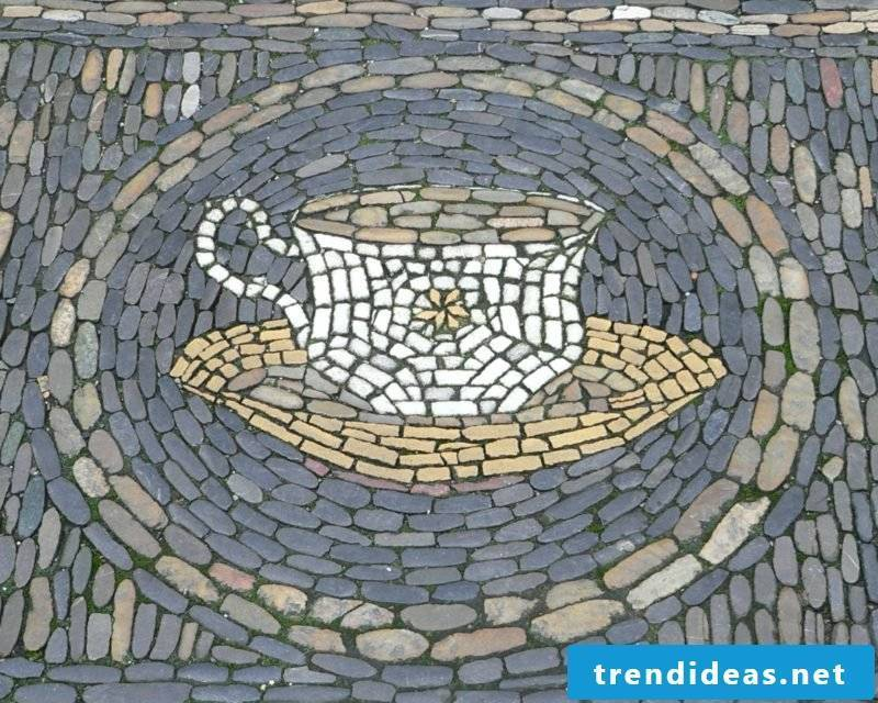 Mosaic tinker coffee cup