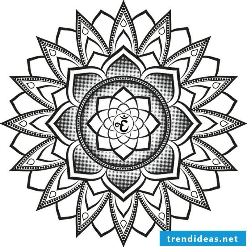 Mandala Templates Meditation