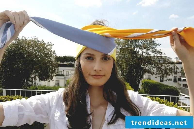 Headscarf bind summer cloth