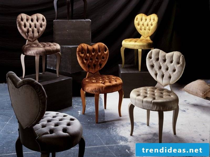 The variety of Valentine's furniture!
