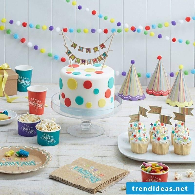 Kids birthday decorating DIY ideas