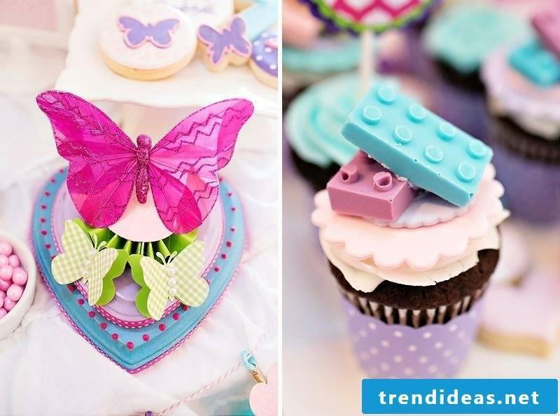 Kids Birthday Deco great cupcakes