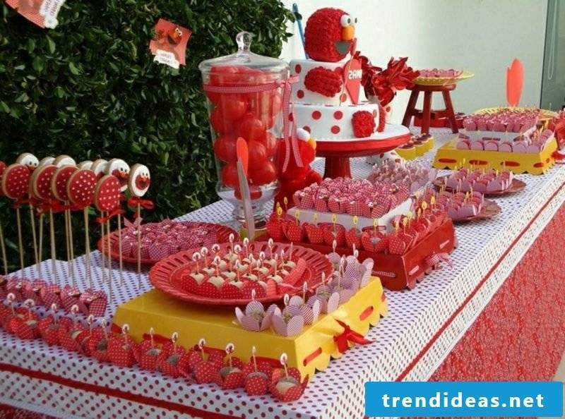 Children's birthday decoration make fanciful ideas