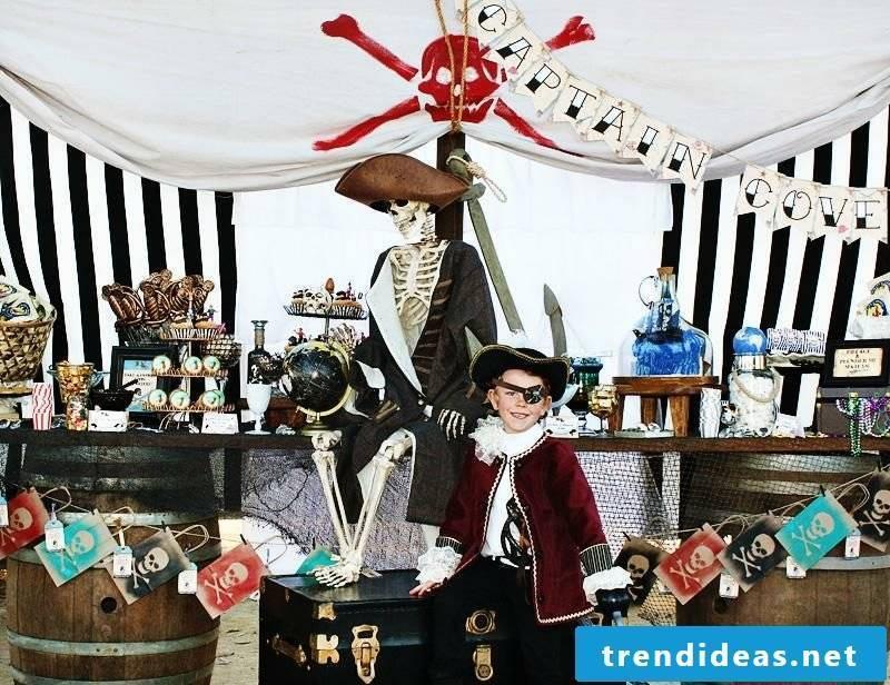 Kids Birthday Decoration Theme Party Pirate Boy