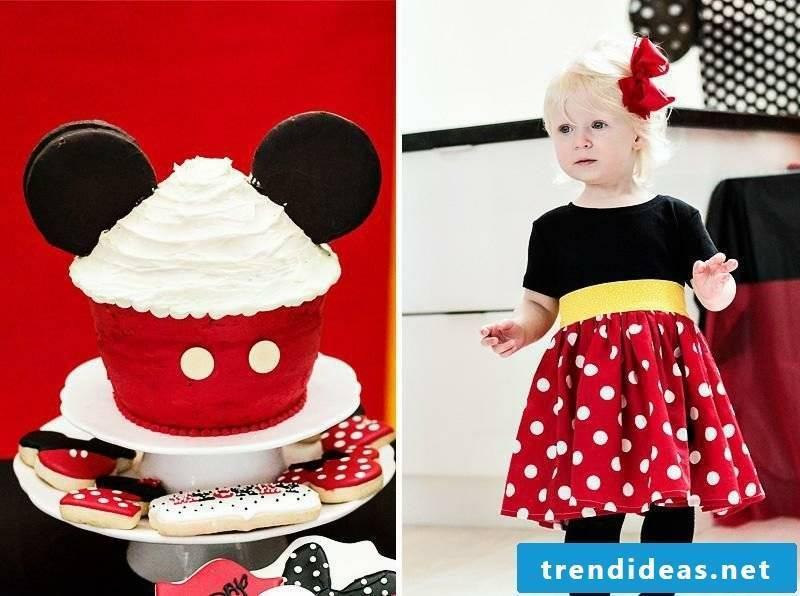 Theme Party Kids Birthday Mini Mouse