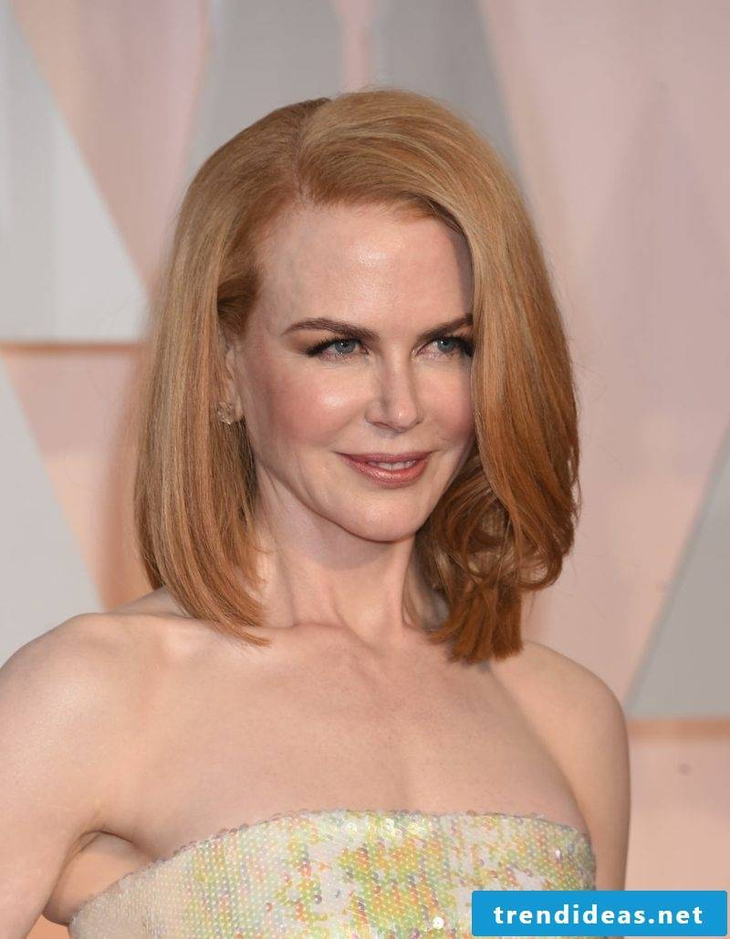 Hair blond strawberry blonde Nicole Kidman