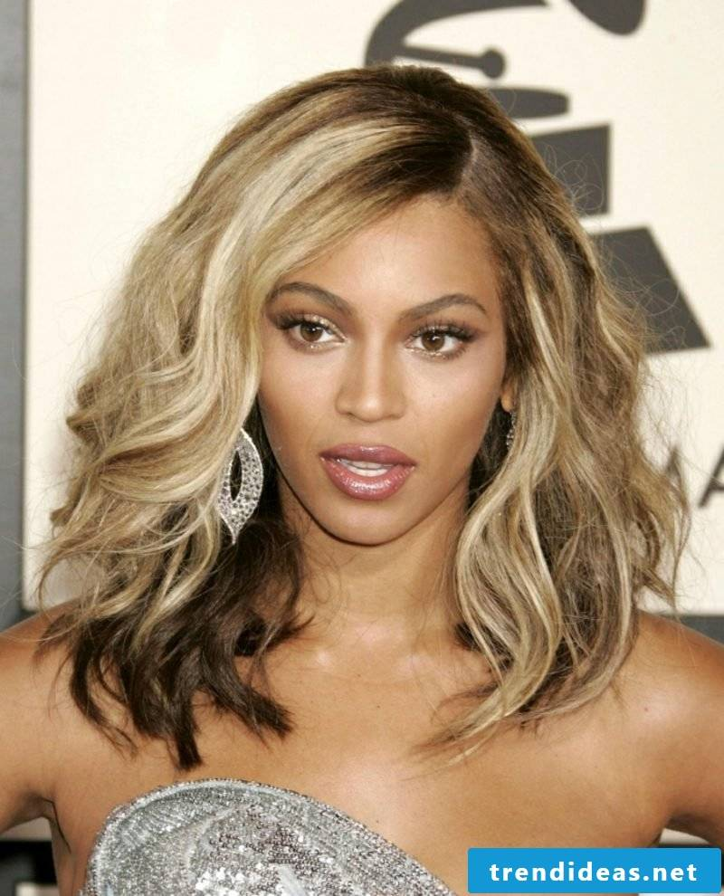 blond hair dark skin Beyonce