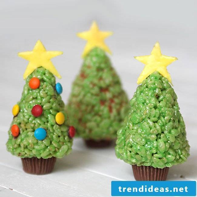 Christmas crafts with children - build your own Christmas tree