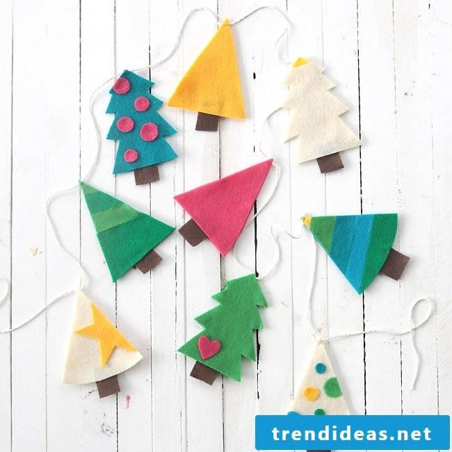 Crafts with children - craft ideas with felt
