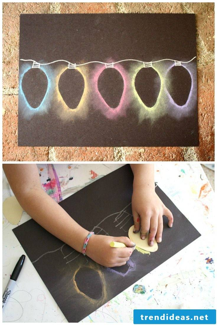 DIY with children for Christmas - DIY ideas