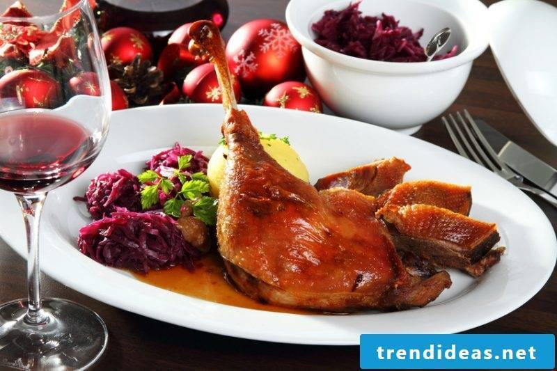 christmas dinner ideas german