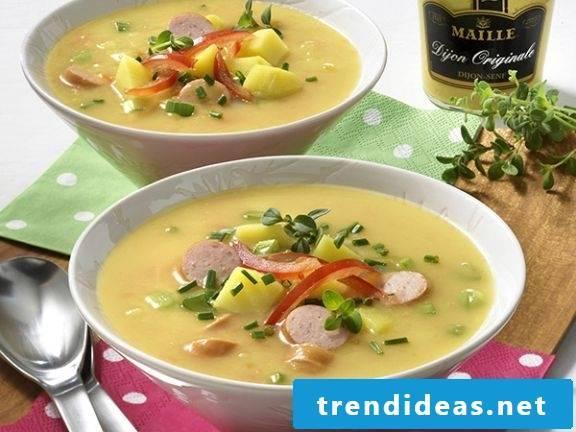 soup christmas dinner ideas