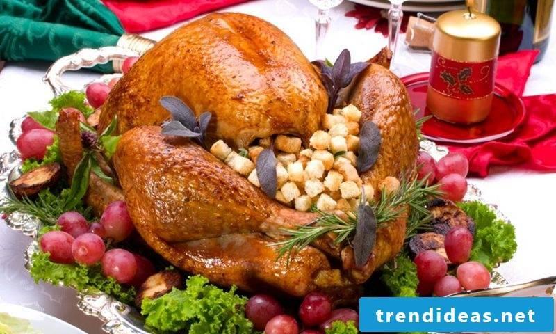 Christmas dinner ideas recipes