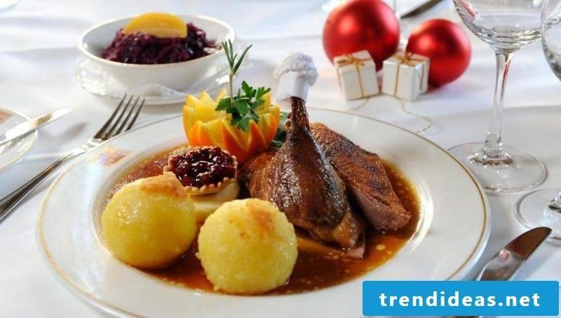 Christmas dinner ideas meat