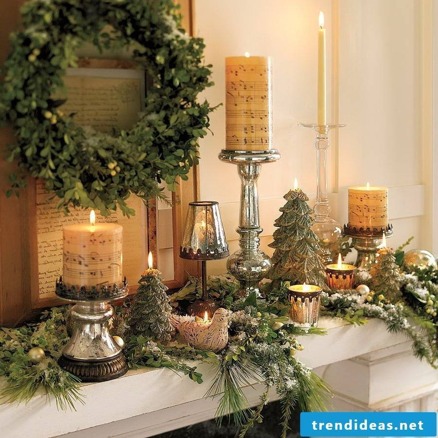 Christmas decoration for more comfort at home