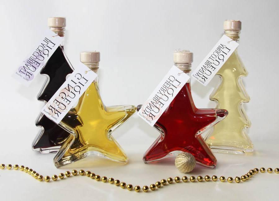 Nicholas gift for friend Christmas liqueur