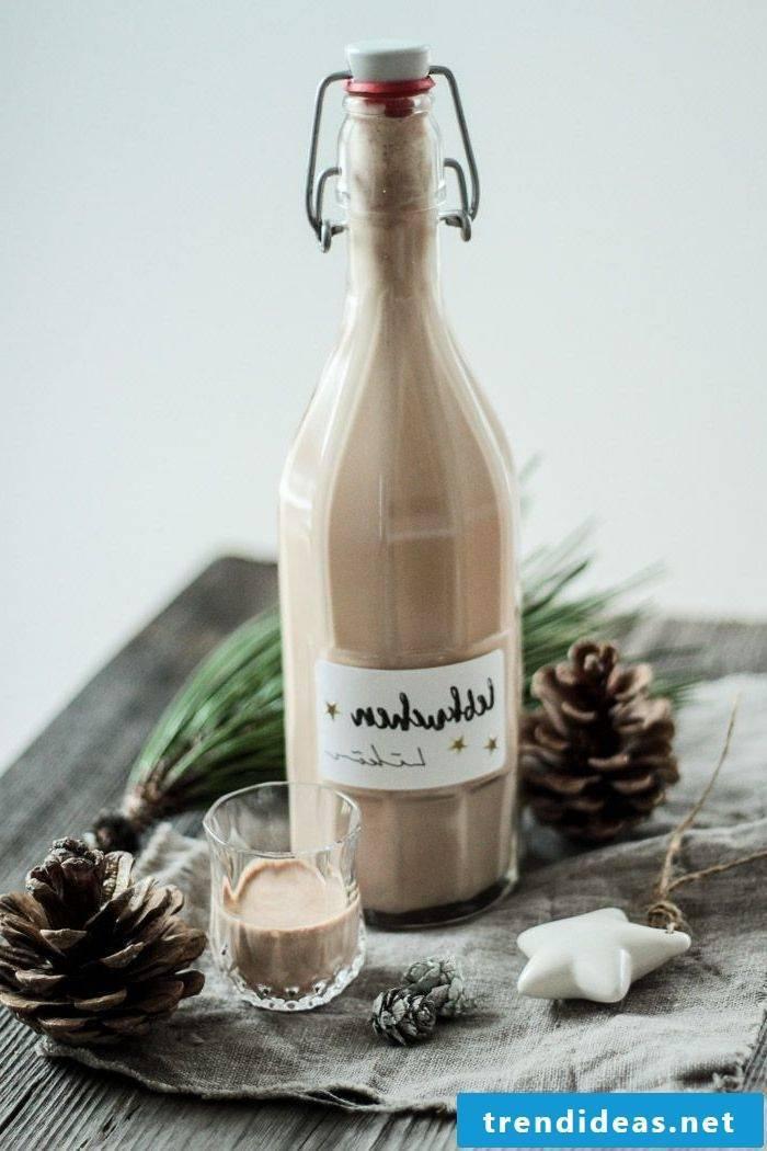 Christmas gift for friend Christmas liqueur gingerbread liqueur