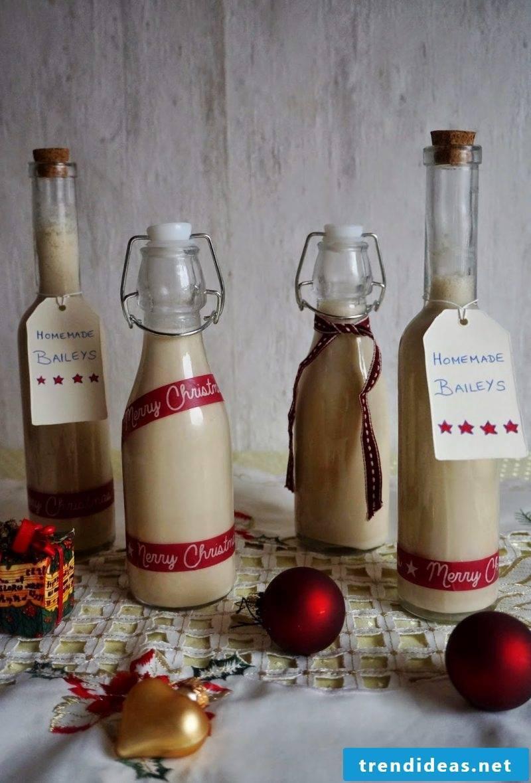 Nicholas gift for friend Christmas liqueur DIY recipes