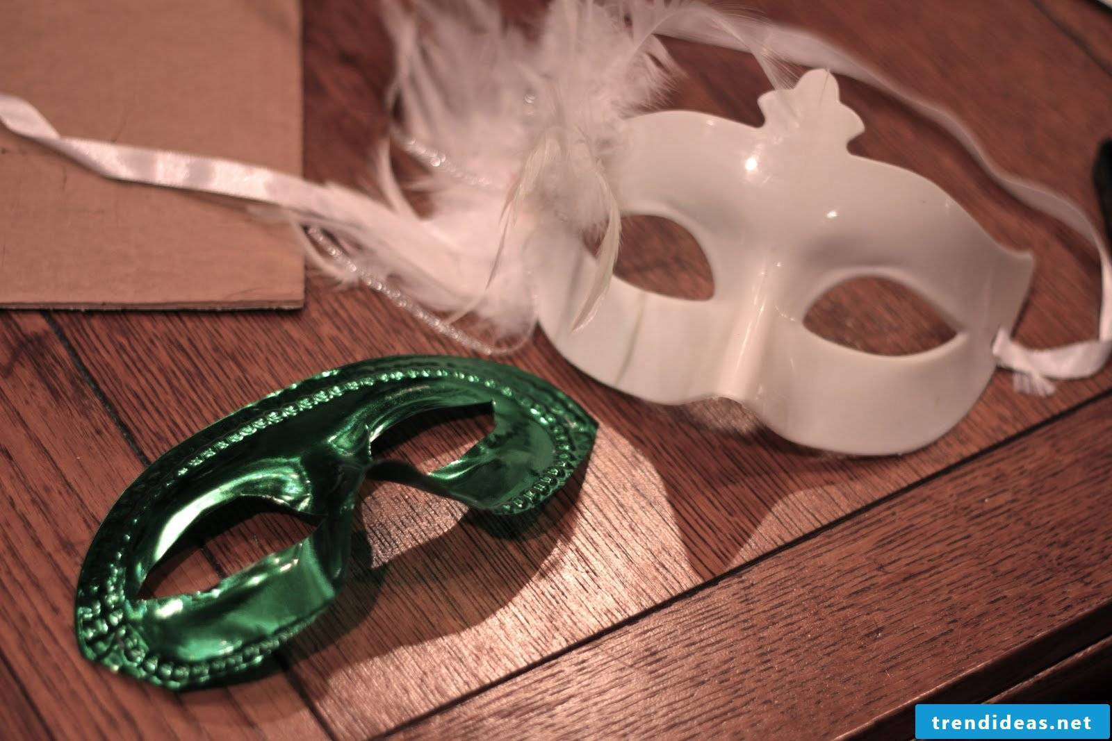 Masks themselves make every occasion