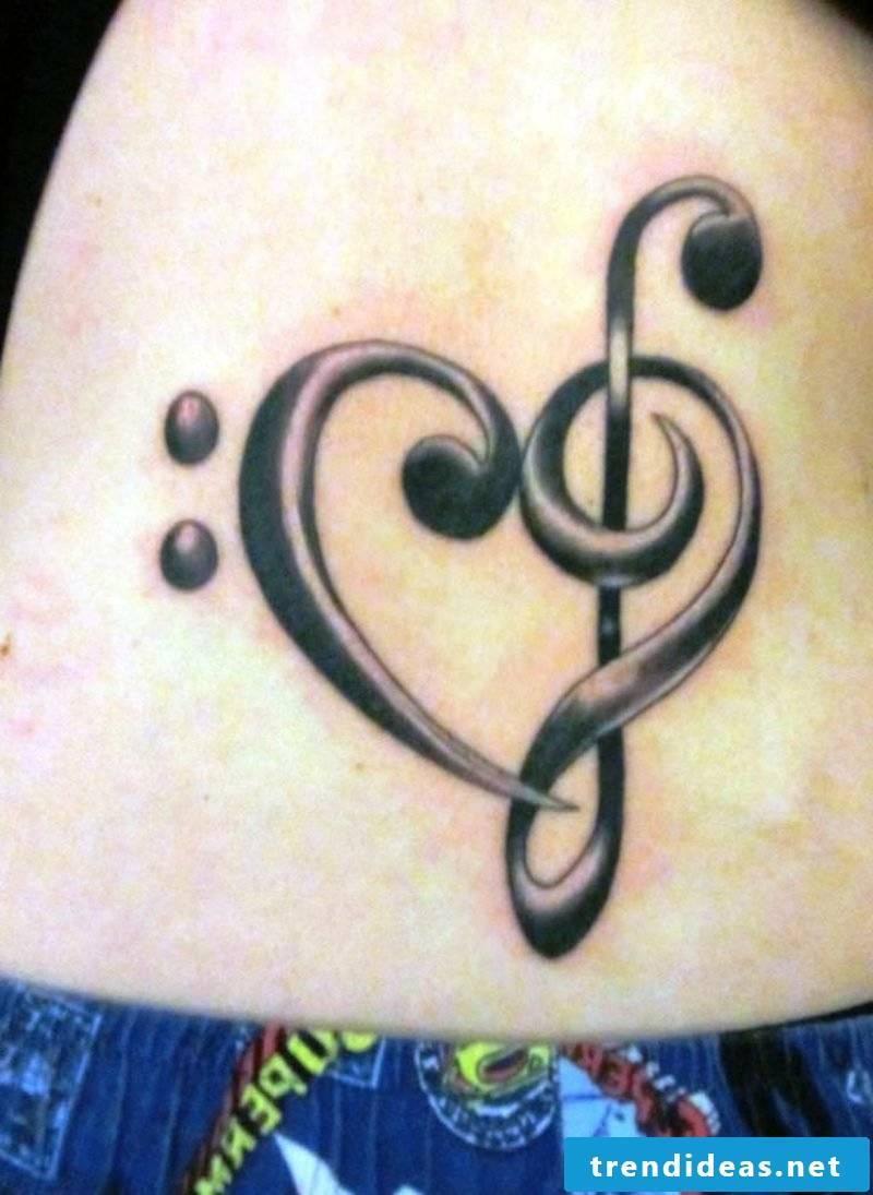 Clef Tattoo