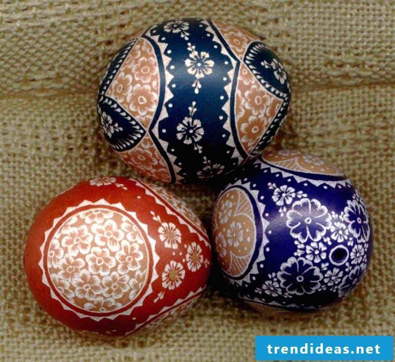 eggs color blue