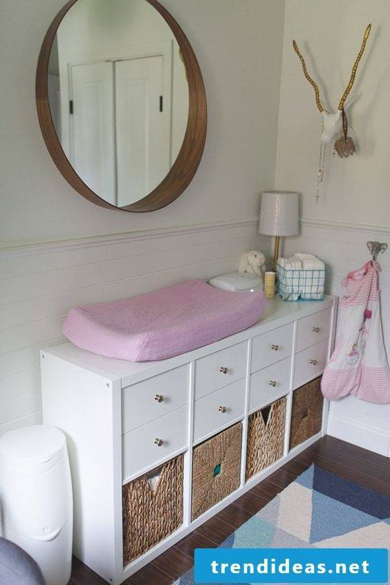 Baby room frame with Ikea