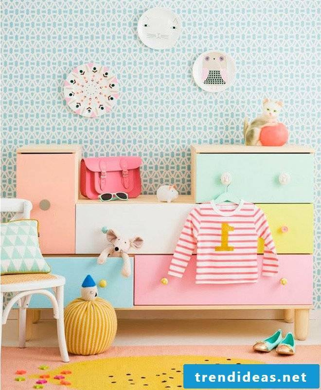 Complete baby room with Ikea