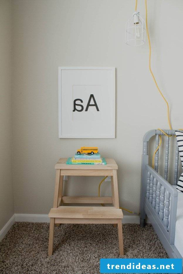 Baby room completely furnished - interior design ideas with Ikea