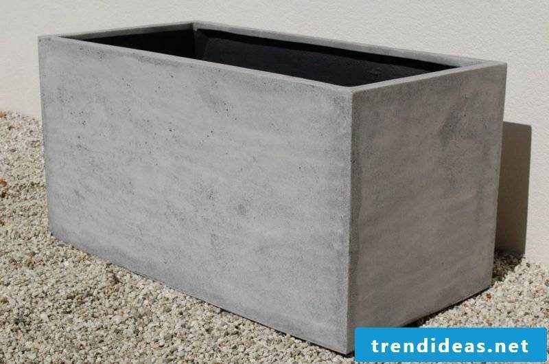 Concrete planter creative design ideas