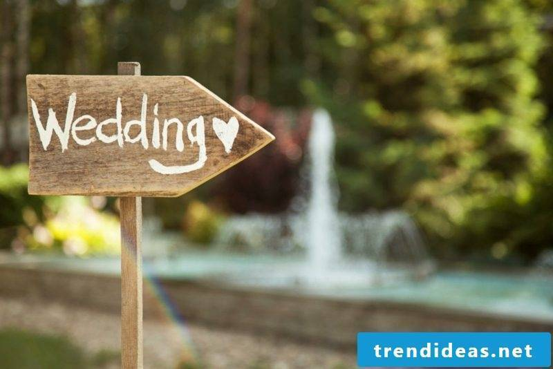 Wedding wish creative ideas