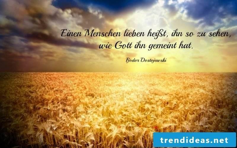 golden wedding quote from Dostojewski
