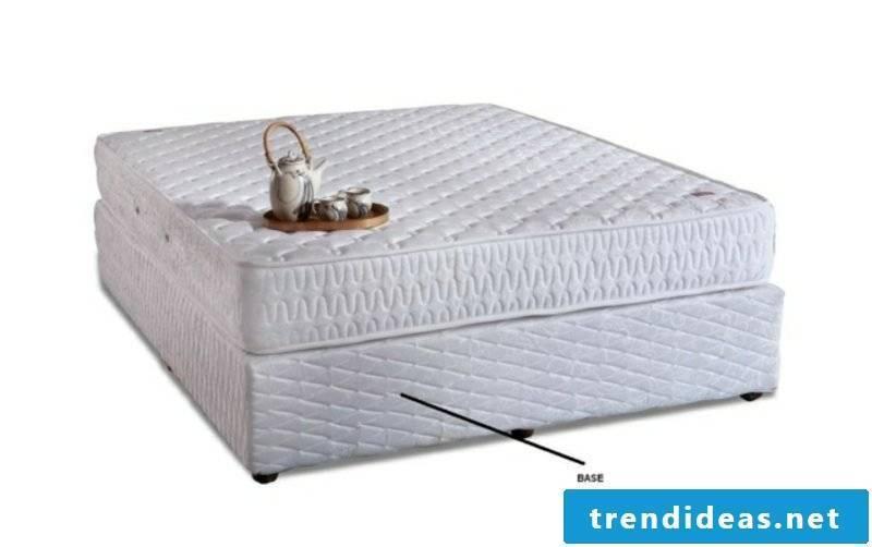 Construction of boxspring high mattress